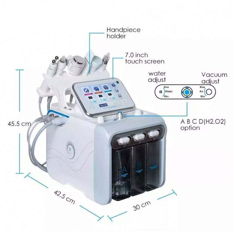 New Face Beauty Equipment Tips Professional Diamond Power Peel Microdermabrasion Machine