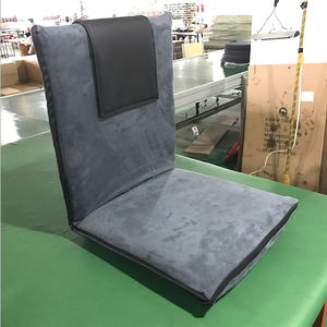 NEW Comfortable Padded Stadium Seat Adjustable Backrest Folding Floor Recliner Gaming Chair