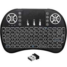Gamer And Mouse Wireless Bt Ott Tv Box Mini With Touch Pad I8 Laptop Keyboard