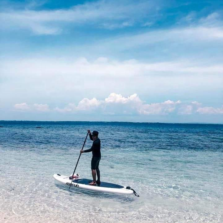 Inflatable Surf Stand Up Paddle Board Surfing Paddle Board Wakeboard Kayak Boat