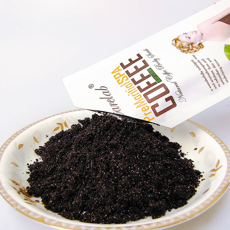Private label Custom Skin Care Whitening Exfoliating Natural Organic Easy To Carry Arabica Coffee Body Scrub