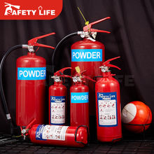 ISO, CE, EN3 Approved Dry Powder, Co2, Foam, HCFC Fire Extinguisher 6kg / extintores / Fire Extinguisher