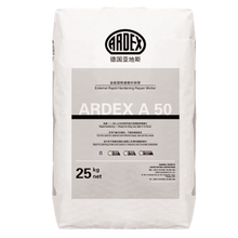 ARDEX A50 External Rapid Hardening repair Mortar