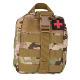 high quality tactical survival kit military bag with custom logo and chosen supplies
