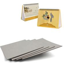 Guangdong 1450g thick calendar paper pressed cardboard sheets