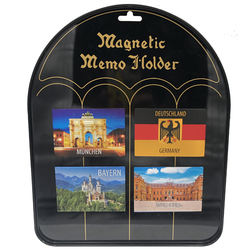Aluminum germany souvenir fridge magnet
