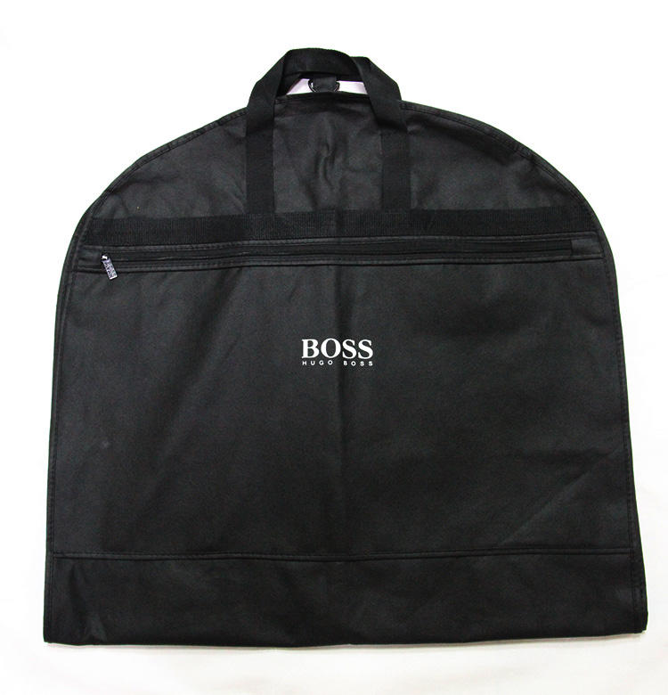 Custom logo non woven garment bag suit cover travel garment bags