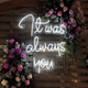 Manufacturer Hot Selling Custom Decorative Lighting Letters Acrylic Led Neon Lights Wedding Neon Sign Party Neon Signs