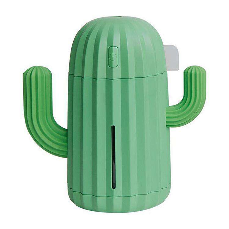 Mini humidifier desktop led night light home bedroom creative new cactus usb humidifier desktop decoration
