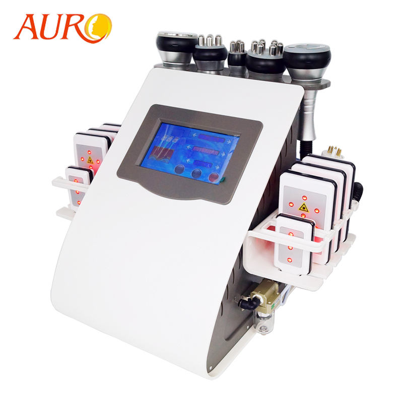 AU-61B Best laser slim cavitation cellulite fat reduction vacuum therapy cupping machine