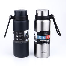 2020 New Design Wide Mouth Portable Sports Drinking Metal Water Bottle, Double wall Stainless Steel Insulated Hydro Vacuum Flask