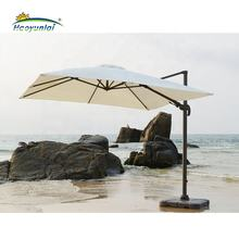 Cheap outdoor waterproof fabric folding beach umbrella