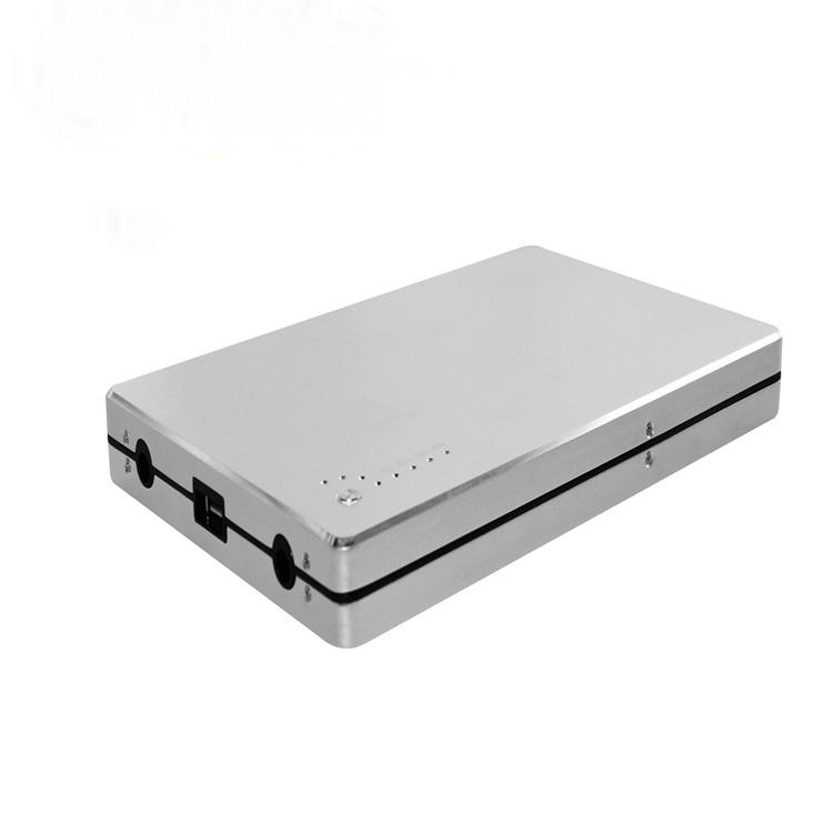 Rohs 50000 mah draagbare oplader externe batterij 12 v 24 v laptop power bank