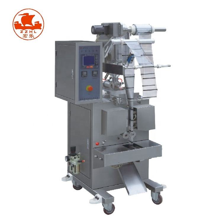 Hot selling automatic oil honey sauce jam salsa tomato paste small sachet bag liquid packing machine
