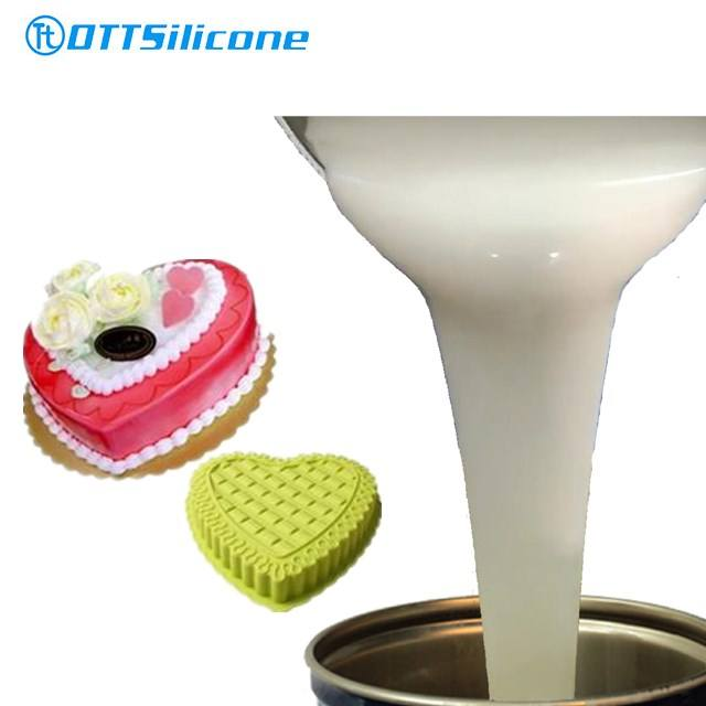 Food Grade Platinum Cured Liquid Silicone Rubber Material for Silicone Molds Making