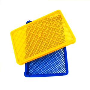 Food grade stackable plastic drying trays, also used for the freezing of fruits, vegetables and seafood
