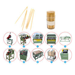 tooth stick making machine/ Bamboo toothpick production line