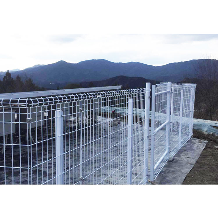 Cheap price high strength panel fence galvanized welded metal fence panels