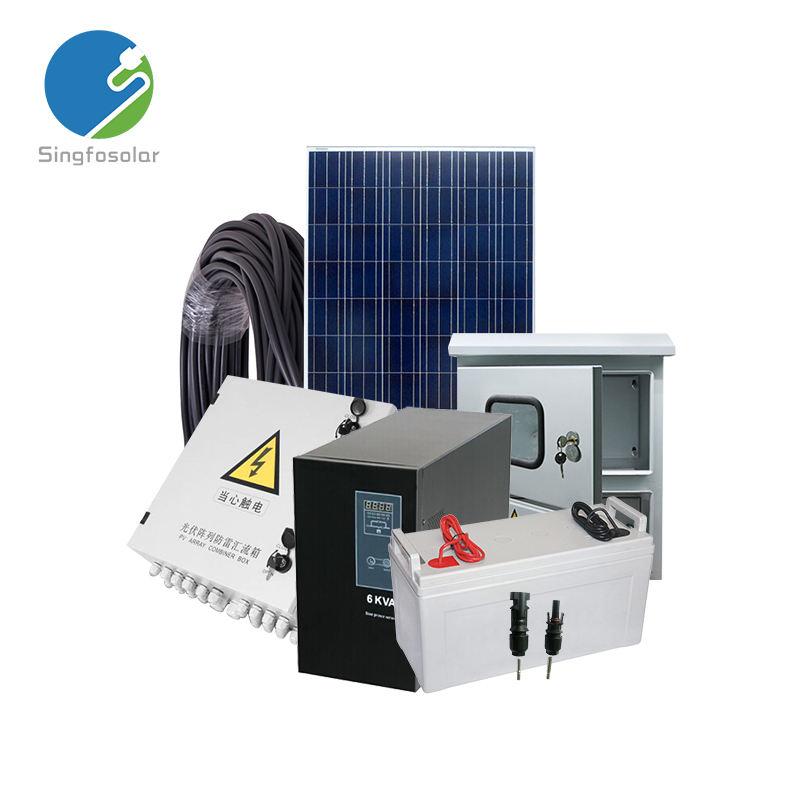 Venda quente 3kw sistema de energia solar completo para casa
