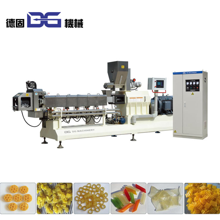 Jinan extrusion food machinery frying pellets papad fryum snack food production line/making equipment plant machines