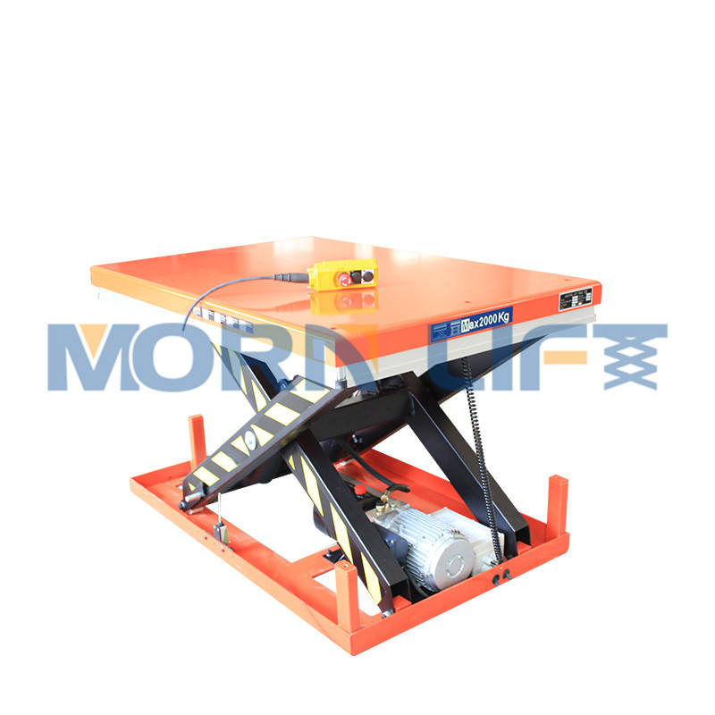 Fixed small electric mini hydraulic scissor car lift table