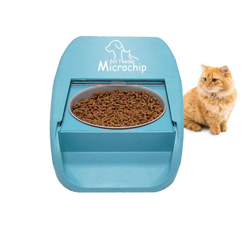 Pet Products Dog RFID Microchip Animal Feeder Automatic Dog Cat Feeder for MultiPets