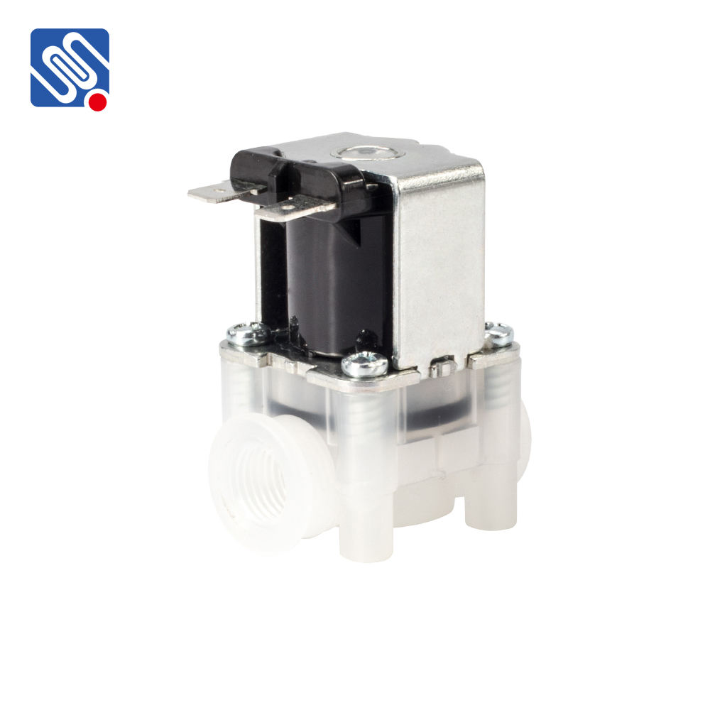 Meishuo FPD360K 1/4 Internal thread 12v mini plastic irrigation 12v mini solenoid valve