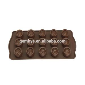 FDA/LFGB Food Grade Candy Silicone Chocolate Molds For Sale