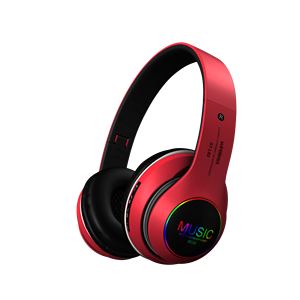 ST-L63 Sampel Gratis 2020 Baru OEM LED Light Hi-fi True Stereo Bluetooth Audifonos Headset Headband Headphone Nirkabel