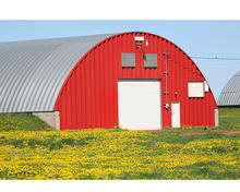 Light steel structure pre engineered prefabricated barn