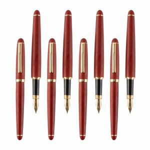 New Wooden Ball Pen High Quality Classic Retro Writing Stationery Eco-friendly Rosewood Ballpoint Pen