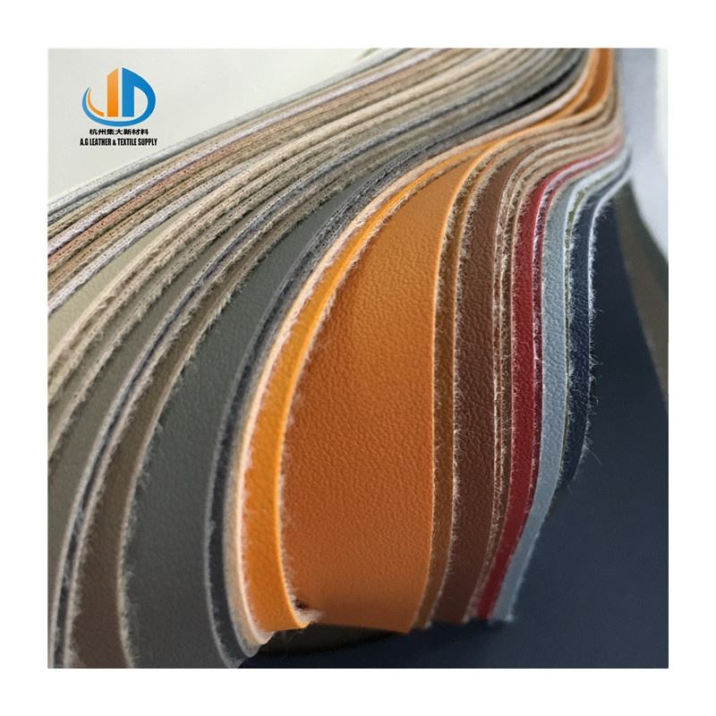 PVC faux soft feeling colorful leather for bags sofa furniture