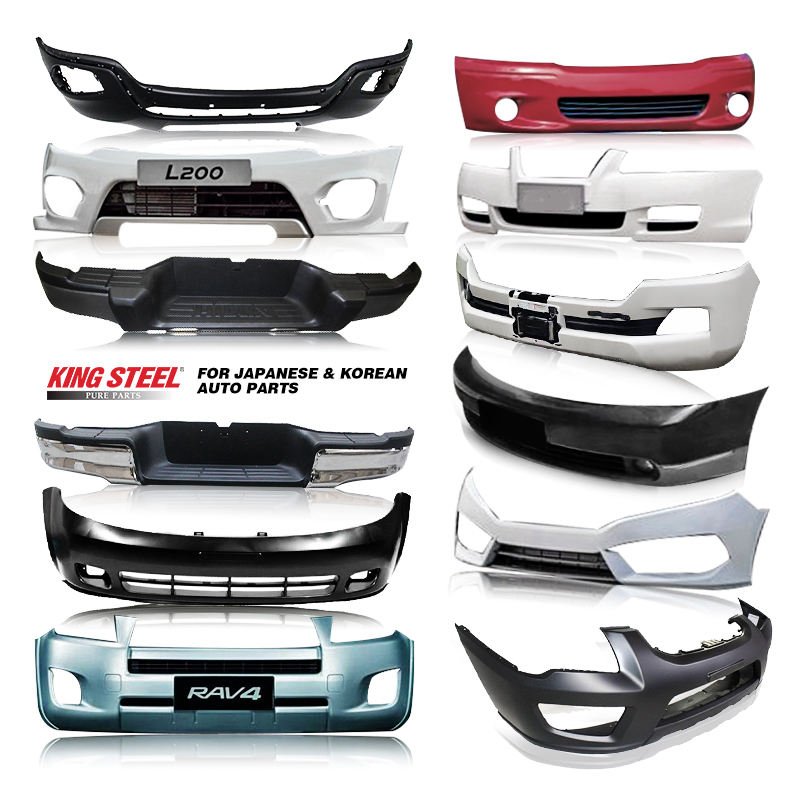 King Steel Japan Car Rear Front Bumper Auto Front Bumper For TOYOTA HILUX HIACE COROLLA LAND CRUISER PRADO HYUNDAI