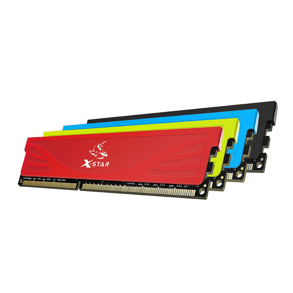 X-Star armour heat sink memoria RAM DDR4 8GB 3000MHZ 288-Pin for pc gaming
