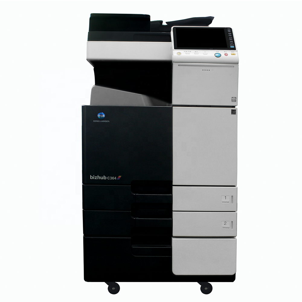 Used Copiers High Quality Digital Printing Machine Konica Minolta Bizhub C364 C364e