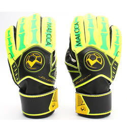 Top Quality Natural Latex soccer Goalkeeper Gloves with Finger Protection Professional  Football Gloves