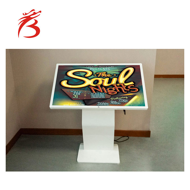 Android 32 zoll lcd display alle-in-one pc touchscreen digital signage horizontale signage lcd display