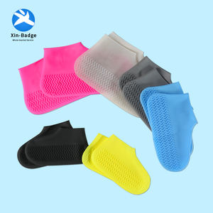 Reusable Silicone Waterproof Shoe Cover Rubber Protective Rain Shoe Cover