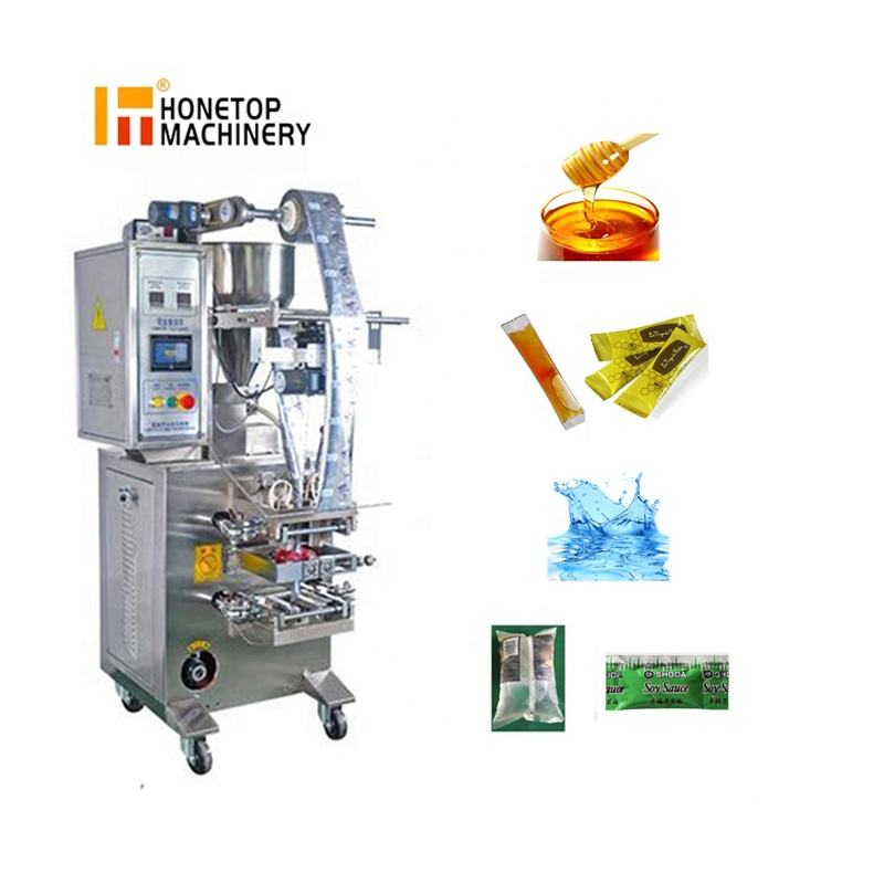 Honey Paste Ketchup Shrimp Paste Mayonnaise Chocolate Vertical Sachet Liquid Packing Machine Filling And Sealing Machine