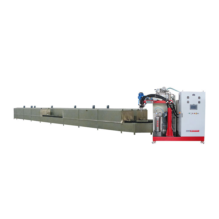 High Temperature Pu Elastomer Pouring Casting Machine,Polyurethane Foam Production Line
