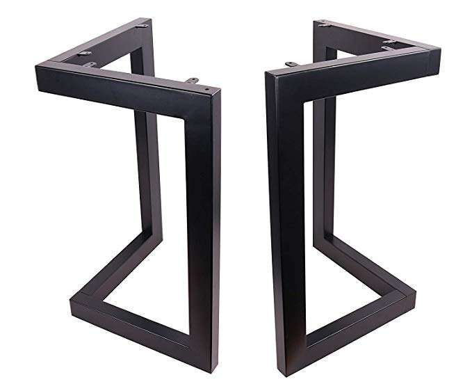 Factory Price High Quality Simple Metal Black Table Legs Dining Table Legs Iron Furniture Legs