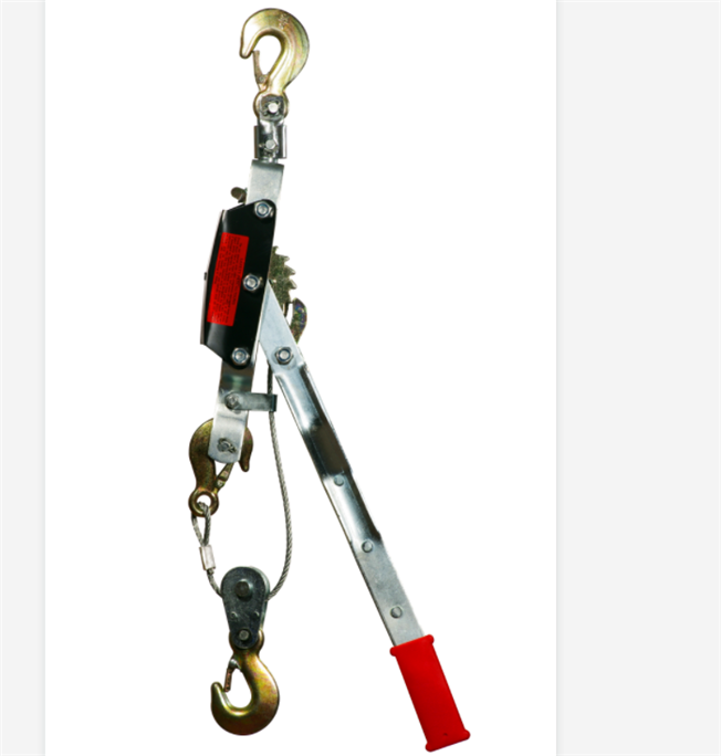Industrial hand ratchet puller/hoist used for electric wire pulling for field needs