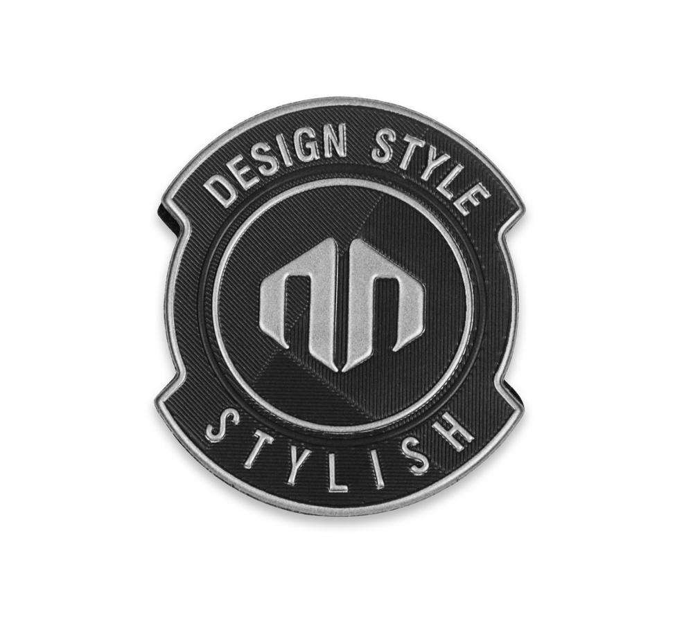 Wholesale Hot Selling Metal Clothing Labels Soft Pvc 3D Clothing Fashion Idea Custom Logo