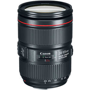 Canon RF 24-105 Mm F4L IS USM Lensa (Kotak Putih)