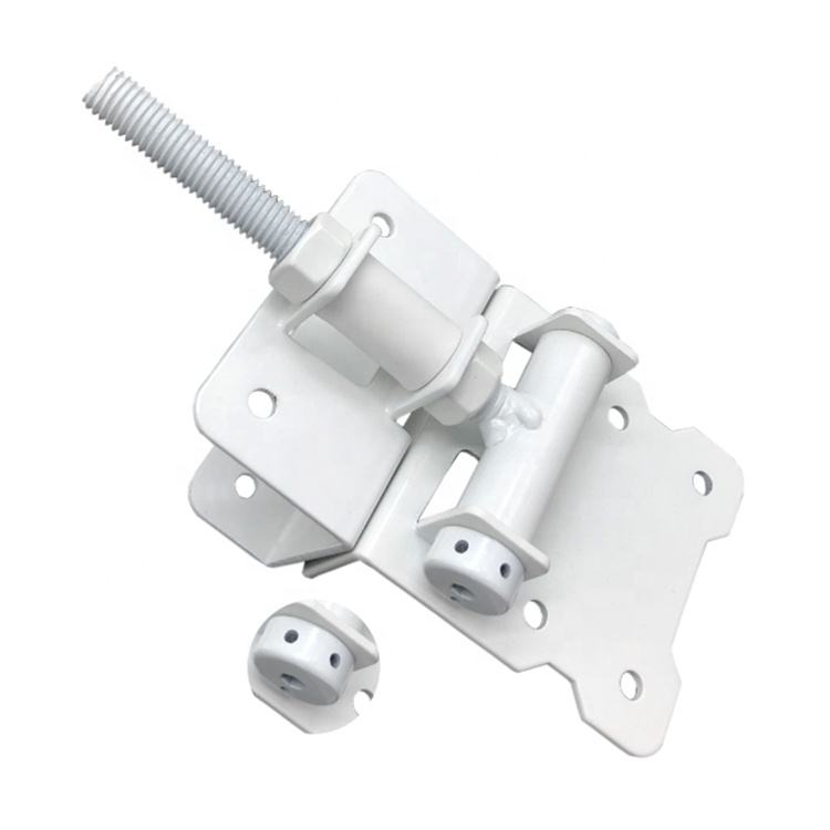 Adjustable To Stop Gate Dragging Self-Closing Wood Vinyl PVC Wood Fence Gate Door Hinge