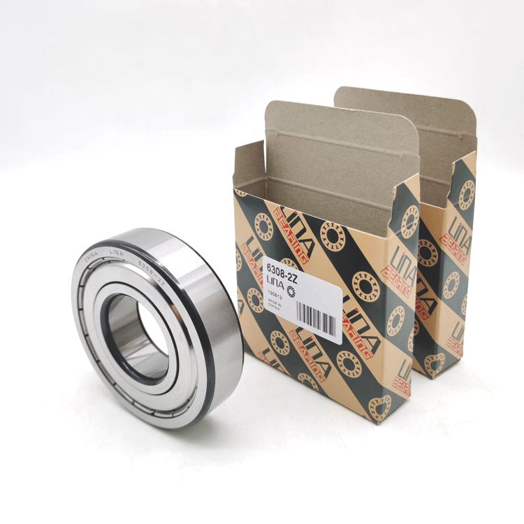 deep groove ball bearing LINA ball bearing 6006 High quality Stable performance Durable