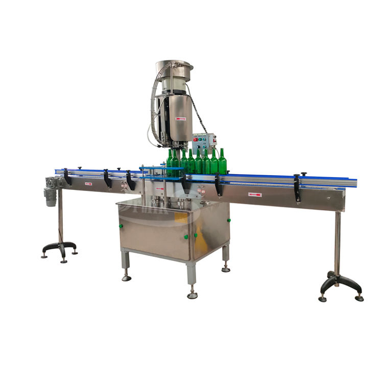China Making Automatic Crown Cap Machine Beer Glass Bottle Capping