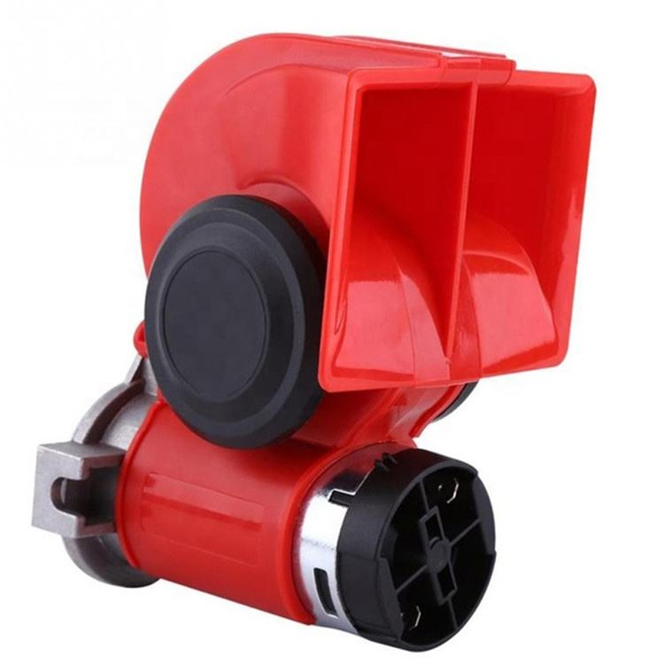 Wholesale Custom 12V 130dB Dual Tone Trumpet Loud Electric Air Horn Snail Electric Siren For Car Motorcycle