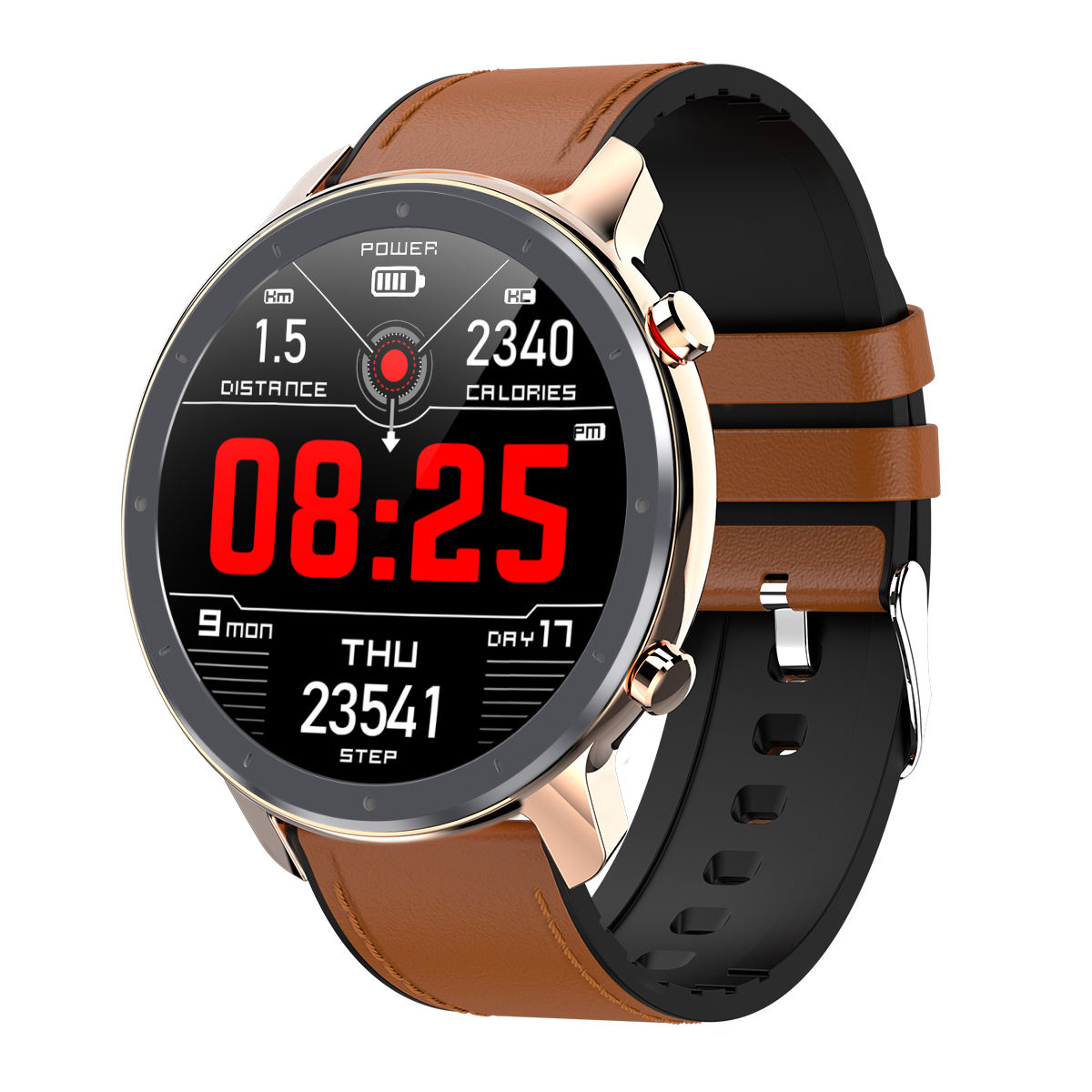 L11 Multifungsi Magnetic <span class=keywords><strong>Charger</strong></span> EKG 1.3 Inci <span class=keywords><strong>Olahraga</strong></span> Tahan Air Smart Watch