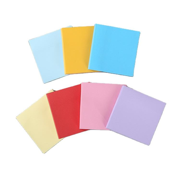 100 Vellen Notes Sticky Notes 6 Heldere Kleur 6 Pads Self Stok 76*76Mm